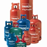Calor Propane and Butane Bottles
