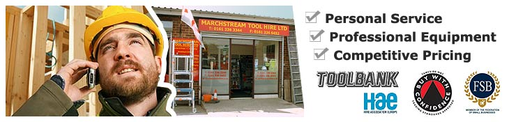 Tool Hire Manchester, Stockport, Cheshire